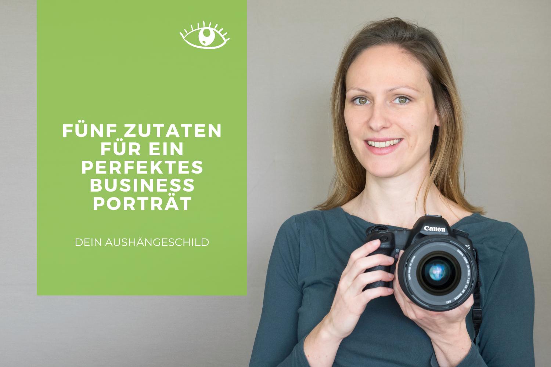 Zutaten Businessportrait